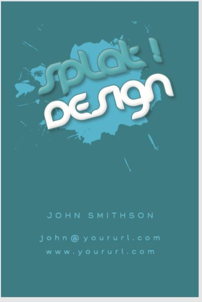 Visiting Card Template 04