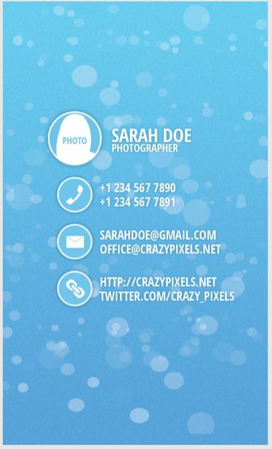 Visiting Card Template 06