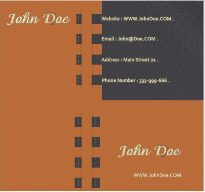 Visiting Card Template 07