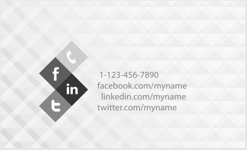 Visiting Card Template 08